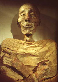 Mummia del Faraone Seti I