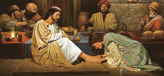 Unzione di Gesù