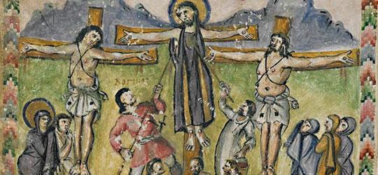 Lancia di Longino - Crocifissione di Gesù