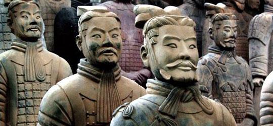 Tombe Cinesi - Esercito di Terracotta