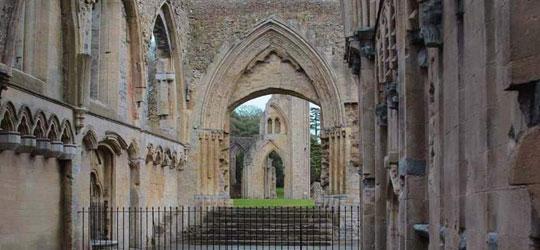 Resti dell'Abbazia di Saint Mary a Glastonbury