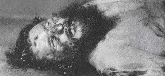 Cadavere di Rasputin