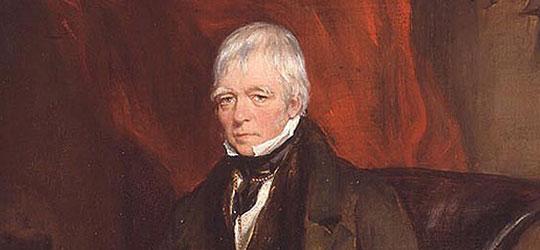 Ritratto di sir Walter Scott