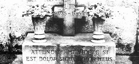 Tomba del Delfino di Francia Luigi XVII