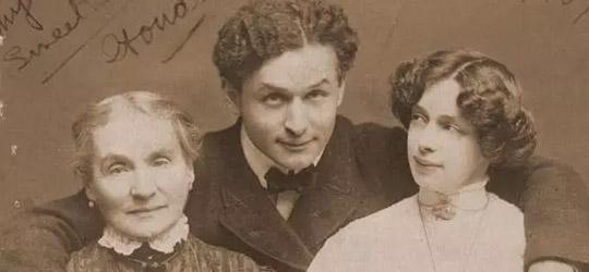 Harry Houdini e la Moglie Bess